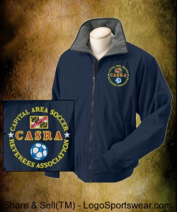 CASRA 3 Season Coat - Navy Blue Design Zoom
