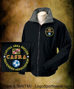 CASRA 3 Season Coat - Black Design Zoom